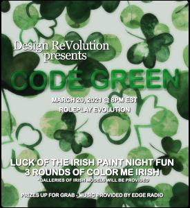 Code Green – Paint Night