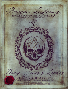 Davy Jones's Locker – Masquerade Ball